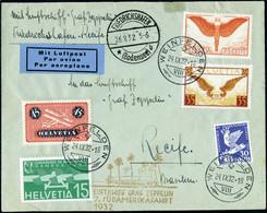 Lettre Zeppelin 7è SAF 1932 Pour Le Bresil TB - Stamps