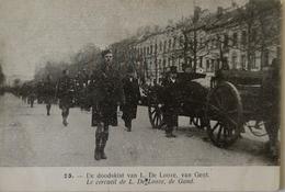 Anvers - Antwerpen / Stoet Ca 1919 - Onbekend No 25 / De Doodskist Van L. De Looze Van Gent /Zeldzaam. N - Antwerpen