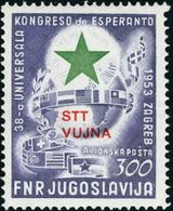 Neuf Sans Charnière N°20 + Poste 86. Les 2 Valeurs ESPERANTO. T.B. - Stamps