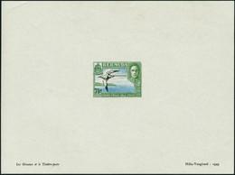 N° 112. 7 1/2 Vert-jaune, Outremer Et Noir, Phaeton, épreuve Hélio-Vaugirard. T.B. - Stamps