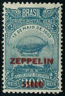 Neuf Avec Charnière N° 27/28, La Paire Zeppelin, T.B. - Unclassified
