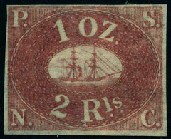 Neuf Sans Gomme N° 2. 2r Rouge-brun. T.B. - Stamps