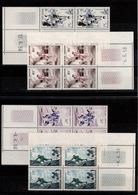Coin Daté YV 1072 / 1073 / 1074 / 1075 N** Serie Alpinisme Tous 1956 Cote 131 Euros - 1950-1959