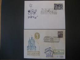 Österreich- 03.12.1958 Christkindl Mit LZ, Beleg Christkindl 06.1.1971 - 1945-60 Covers