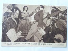 CPA Bar Des Noctambules Illustrateur Contre Danse Et Mauresque Peinture De G Leroux - Altre Illustrazioni