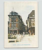 """Carte De Visite Publicitaire Avec Calendrier 1987 """" L'Est éclair """" - Children"""
