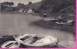 --- 22 --     PONTRIEUX -- LE PORT DE GOASVILINIC   --CARTE PHOTO -- 1951 - Pontrieux