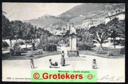 MONTREUX Jardin Anglais Sent 1902 MONTREUX > Constantine /ALGERIE - VD Vaud