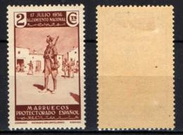 MAROCCO SPAGNOLO -  1937 - Legionnaires - MH - Marocco Spagnolo