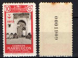 MAROCCO SPAGNOLO -  1952 - Distributing Alms - MH - Marocco Spagnolo