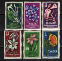 MAROCCO SPAGNOLO -  TANGER - FLORA - MNH - Marocco Spagnolo