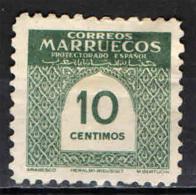 MAROCCO SPAGNOLO -  1953 - CIFRA - Marocco Spagnolo