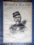 LE PETIT MONITEUR ILLUSTRE 24/03/1889 DUC AUMALE CHATEAU DE CHANTILLY DOMAINE STATUE CONNETABLE PAUL DUBOIS SCULPTEUR - Giornali