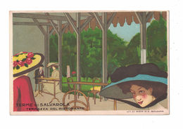 CARTOLINA PUBBLICITARIA POST CARD CARTE POSTALE TERME DI SALVAROLA - Advertising