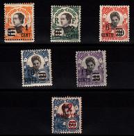 INDOCHINE - N°117/122* - SERIE COMPLETE DE 1922. - Indochina (1889-1945)