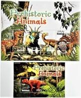 Maldives 2005**Mi.4445-48.+ Bl.589. Prehistoric Animals , MNH [16;41] - Preistorici