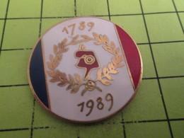 416a Pin's Pins / Beau Et Rare : THEME : AUTRES / CELEBRATION REVOLUTION FRANCAISE BONNET PHRYGIEN LAURIERS - Badges