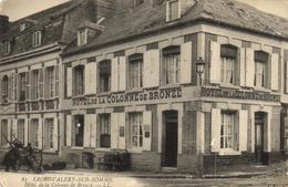 Saint Valéry Sur Somme - Hôtel De La Colonne De Bronze - Saint Valery Sur Somme