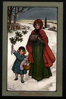 M. M. Vienne, N°234,  Signe Ethel Parkinson, Paysage D'hiver - Vienne