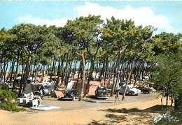 Dép 17 - Voitures - Automobile - Ile D'Oléron - St Denis - Saint Denis D'Oléron - Le Camping Dans Les Pins - Bon état - Ile D'Oléron