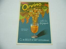 ETICHETTA PUBBLICITARIA VINO ORVINO CASTELLANA BARI. - Alcolici