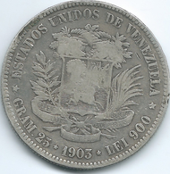 Venezuela - 1903 - 5 Bolívares - KMY24 - Venezuela