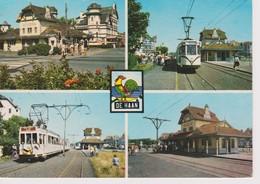 Le Coq-De Haan-Tram En Station - De Haan