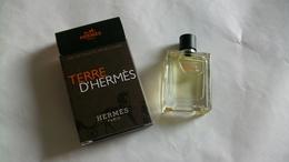 """Miniature De Parfum Hermès     """" Terre D'Hermès  """" Eau De Toilette - Modern Miniatures (from 1961)"""