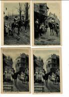 SCHK 460 - PEREZ - ANNONCEUR DU ROI - LE RENSEIGNEMENT  - ADIEU DU POSTTILON - Malerei & Gemälde