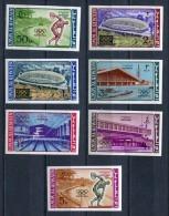 Umm Al Qiwain 1964 Mi# 19 B - 25 B OLYMPIC GAMES TOKYO 1964 MNH - Umm Al-Qiwain