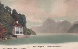 Carte Postale - Postkarte, Tell`s Kapelle - Vierwaldstättersee - UR Uri