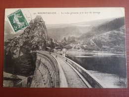 CPA - 42 - ROCHETAILLEE - LA ROCHE GIROUETTE ET LE MUR BARRAGE (h) - Rochetaillee