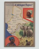 """Image Offerte Par """" Les Produits Du Lion Noir """" Colonies Françaises L'Afrique équatoriale - Oude Documenten"""