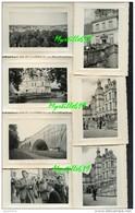 Fontainebleau - Château -  Lot 7 Photographies Amateur N & N - 8.5 X 11 Cm - Lieux