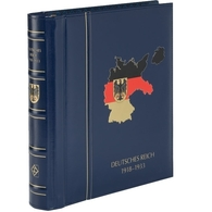 LT Classic Deut. Reich 1871-1918 Drehstabbinder/ Kassette Blau Neuwertig (KL44 - Encuadernaciones Solas