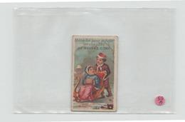 """Carte De Visite """" Mme Elise """" Modes Pour Théatre - Visitekaartjes"""