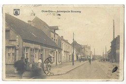 CPA OUDE GON - ANTWERPSCHE STEENWEG - Café - Mortsel