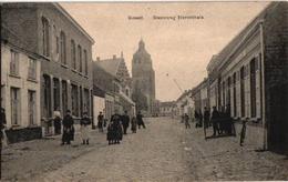 1 Postkaart Kessel Steenweg Op Herentals  Uitg. Vandevelde Zicht Op De Kerk - Nijlen