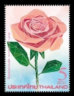 Thailand 2017 Mih. 3626 Flora. Flowers. Rose - Symbol Of Love MNH ** - Tailandia