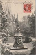 LE 7-(86) POITIERS - LE MONUMENT DES COMBATTANTS DE 1870 - LE SQUARE DU LYCEE - 2 SCANS - Poitiers