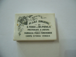 SCATOLA SCATOLINA SANITà FARMACIA PONCI FERDINANDO CAMPO S.FOSCA VENEZIA. - Scatole