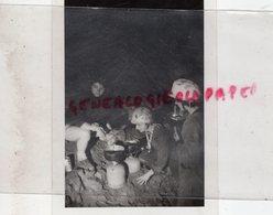 87- LIMOGES- FOUILLES PLACE REPUBLIQUE  -EQUIPE SPELEOLOGIQUE - SPELEOLOGIE - RARE PHOTO ORIGINALE - Berufe