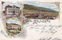 Carte Postale - Postkarte, Souvenir De Malleray - BE Berne