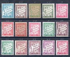 FRANCE - YT Taxe Entre N° 28 Et 42A - Neufs **/* - MNH/MH - Cote: 1949,60 € - 1859-1955.. Ungebraucht