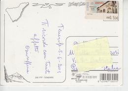SPAGNA 2003 - Cartolina Per L'Italia - Francobollo Automatico - Architettura - 1931-Oggi: 2. Rep. - ... Juan Carlos I