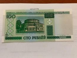 Belarus Uncirculated 100 Rubles Banknote - Belarus