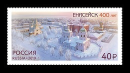Russia 2019 Mih. 2697 Yeniseysk Town. Churches MNH ** - Nuevos