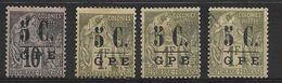 Guadeloupe N° 10 Et Deux N° 11, Voir Scann & Description - Guadeloupe (1884-1947)