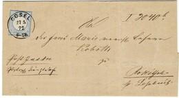 1872, Nr. 5 Luxus Auf Brief! , A2004 - Briefe U. Dokumente