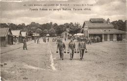 LES RUSSES AU CAMP DE MAILLY - L' Heure De La Soupe - Guerre 1914-18